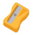 sharpener for pencils icon flat cartoon style vector image vector image