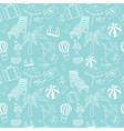 Travel touristic seamless pattern vector image vector image
