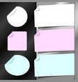 paper for notes set vector image