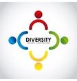 diversity concept vector image vector image