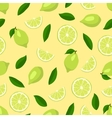 Limes seamless pattern vector image