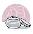 moisturizing cream vector image vector image