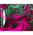 Pink marbling texture Creative background with vector image vector image