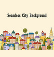 seamless banner background with rows colorful vector image vector image