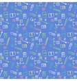 seamless pattern for fabric Image school vector image