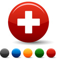 Switzerland icons vector image vector image