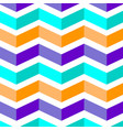blue orange violet geometrical leporello stripes vector image