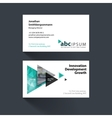 business card template with flying