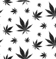 Cannabis pattern9 vector image
