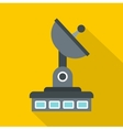 Observatory icon flat style vector image vector image