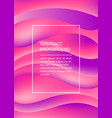 pink soft abstract background with copyspace vector image vector image