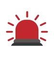 red flashing alarm