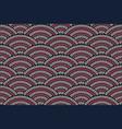 seamless traditional asian ornamental motive vector image vector image
