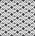 volumetric seamless pattern of intertwined bands vector image