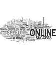 what attracts online success text word cloud