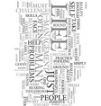 you want to benefit text word cloud concept vector image vector image