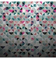 Abstract color mosaic background vector image vector image