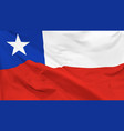 flag chile vector image vector image