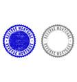 grunge reverse mortgage scratched stamp seals vector image vector image