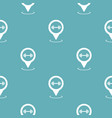 gym map pointer pattern seamless blue vector image