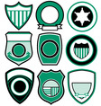 simple patch badge vector image vector image