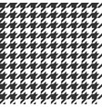 houndstooth seamless pattern vintage textile vector image