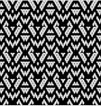 Tribal monochrome lace vector image