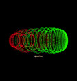array with dynamic particles sound wave vector image