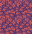 barberry seamless pattern silhouette of berry or vector image vector image