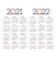 calendar 2021 - 2022 year editable template