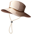 Fishing hat vector image vector image
