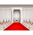 Red Carpet Interior vector image