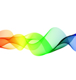 Abstract color wave element for design vector image vector image