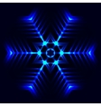 Abstract cosmic star vector image vector image