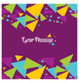 colorful explosion of confetti grainy abstract vector image