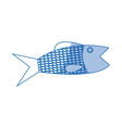fish sea food fresh animal wild icon vector image vector image