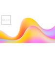 liquid color vector image vector image