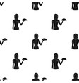 the waitressprofessions single icon in black vector image vector image