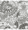 Vintage Ethnic Seamless Background Boho Pattern vector image vector image
