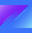 abstract fluid color background of violet and blue vector image vector image