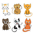 cats collection part 2 vector image