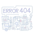Error Infographics vector image