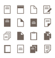 File an icon2 vector image vector image
