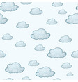 greek cloud tile vector image vector image
