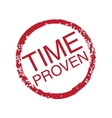 Time-Proven vector image vector image