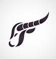 Buffalo logo vector image vector image