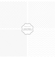 Collection of simple patterns vector image vector image