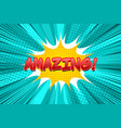 comic light concept vector image vector image