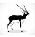 deer 2 vector image vector image