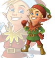 Elf vector image vector image